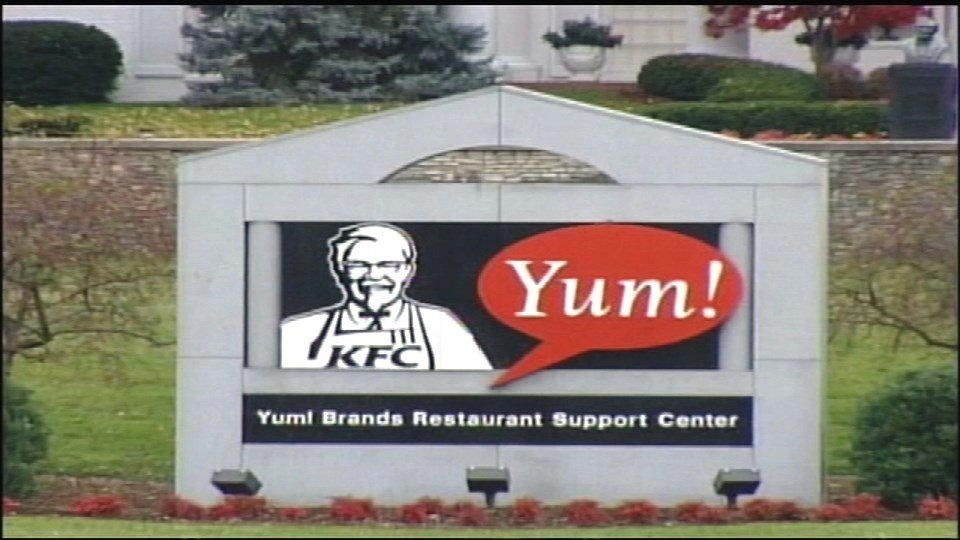 Yum's corporate headquarters in Louisville, Ky.