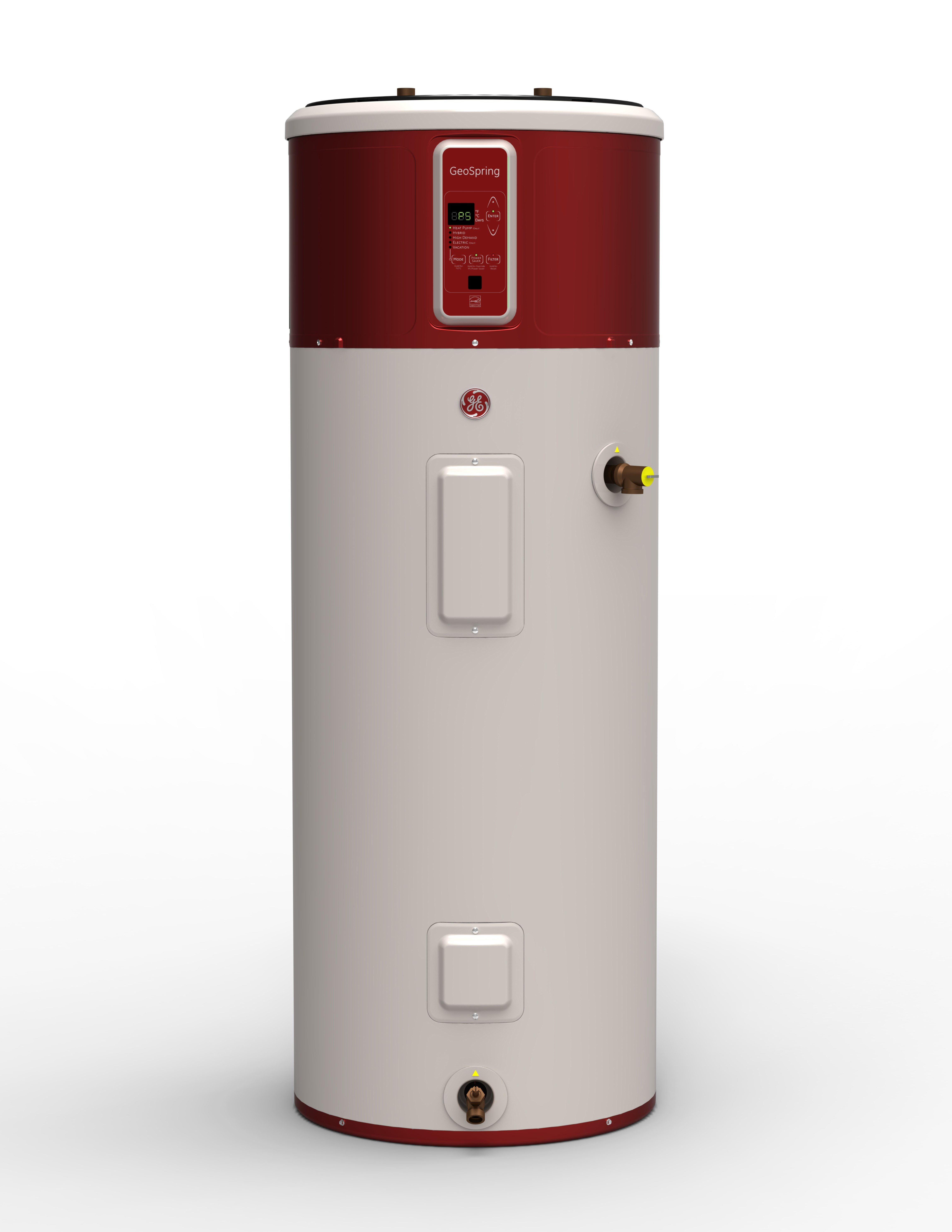 The GeoSpring hybrid electric water heater (GE Appliances)