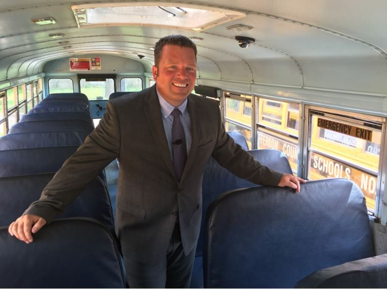 """""""Our drivers are often the first and last people from JCPS that our kids see every day. It's such an important job in this district,"""" Randy Frantz, JCPS transportation director"""