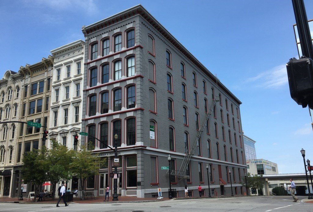Vision Hospitality Group plans a boutique hotel at 601 W Main Street in downtown Louisville.
