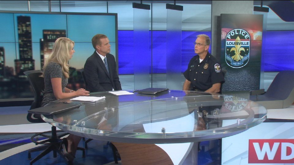 Louisville Metro Police Chief Steve Conrad stopped by WDRB on Thursday to have an exclusive interview with David Scott and Lindsay Allen about the state of violence, gangs, drugs and more throughout Louisville.