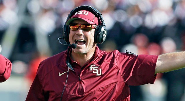 Florida State's Jimbo Fisher (AP photo)