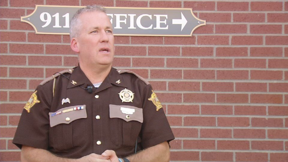 Grayson County Sheriff Norman Chaffins