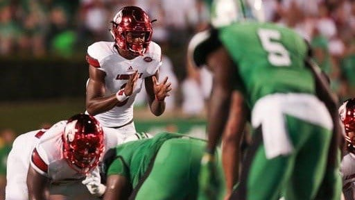 Jackson shines again, No. 3 Louisville beats Marshall 59-28