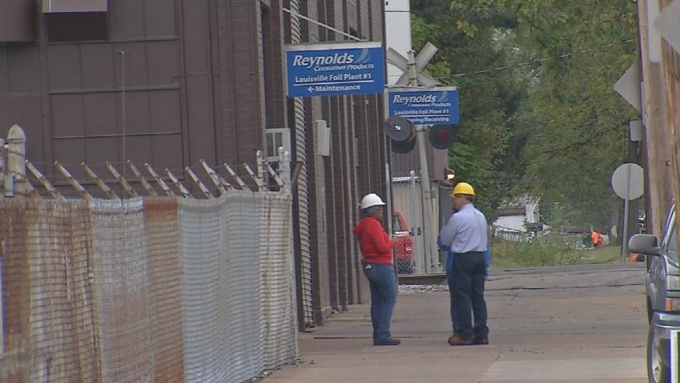 Reynolds plant in Louisville's Parkland neighborhood