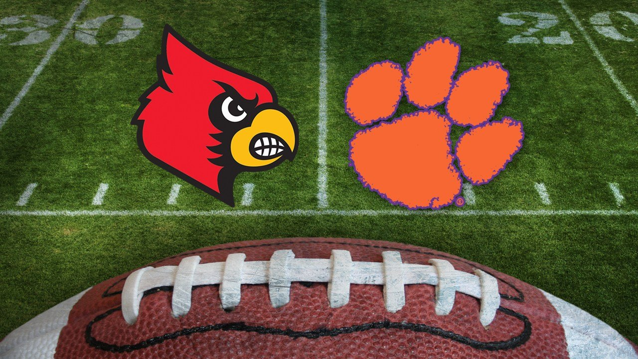 Louisville rallied from an 18-point hole but lost to Clemson, 42-36, Saturday.