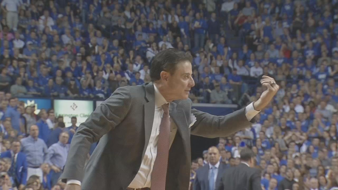 Louisville Cardinals fire Rick Pitino 'with just cause' amid FBI investigation
