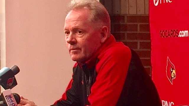 Bobby Petrino did not field many questions about Duke Monday.