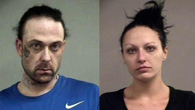 Brandon Keeling and Jessica Lamb (Source: Louisville Metro Corrections)