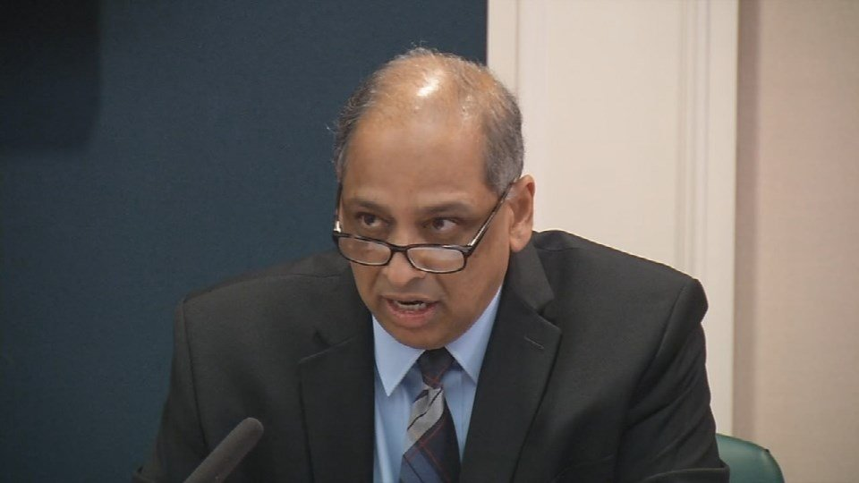 U of L Acting President Neville Pinto