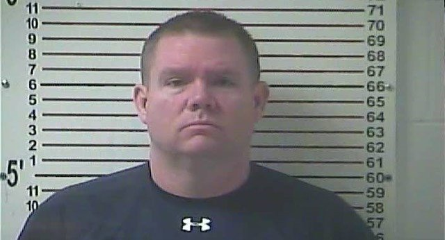 Stephen Kyle Goodlett, a former principal at LaRue County High School in Kentucky, was sentenced to nine years in federal prison on Feb. 8, 2018.