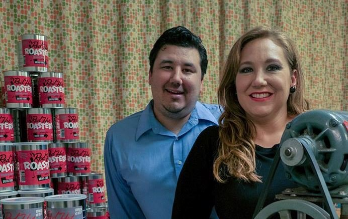 Red Hot Roasters owners Jason and Sondra Powell (provided by Red Hot Roasters)