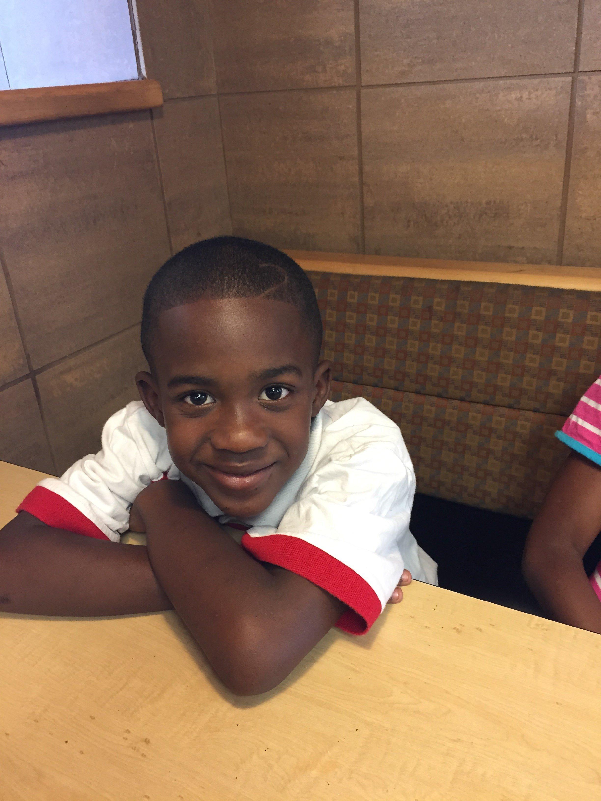 Phillip P. Neal III, 8, attends Engelhard Elementary