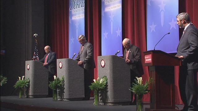 Holcomb, Gregg set for final Indiana gubernatorial debate