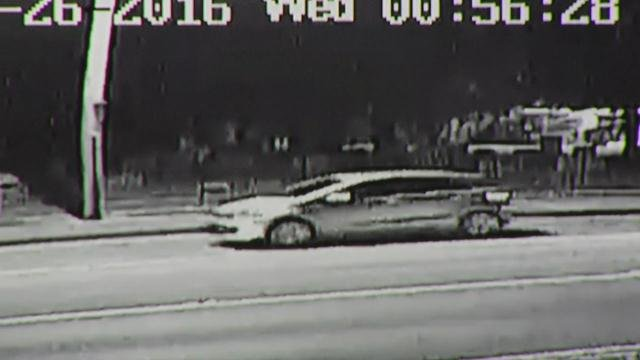 Police are looking for this car in connection with shooting
