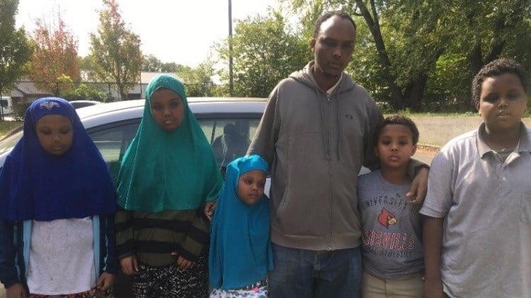 Dool Gure's husband and children