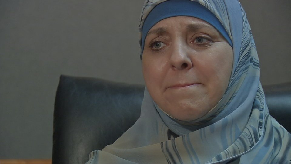 Michele Browning suffered a fractured skull and more than 80 staples were put in her head.