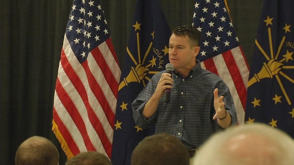 U.S. Senate candidate Todd Young