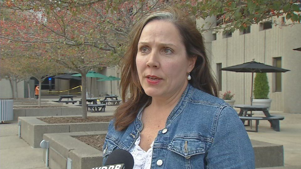 Maggie Casarro is suing the dog's owner for $900 in damages to cover the repairs.