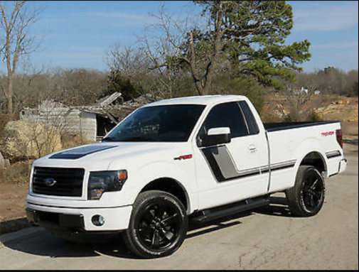 A truck similar to this one was stolen from the scene, according to police. (Souce: Floyd County Sheriff's Department)