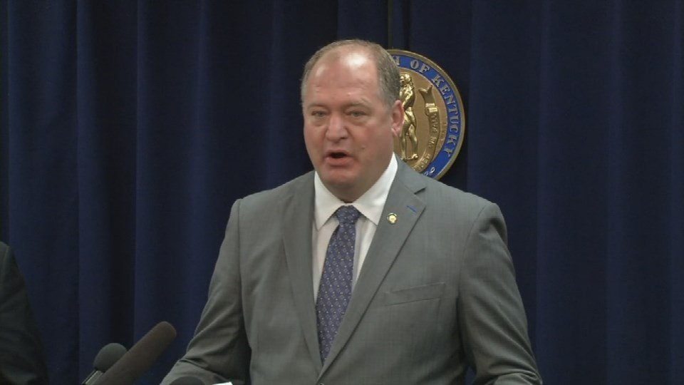 Republican House Leader Jeff Hoover