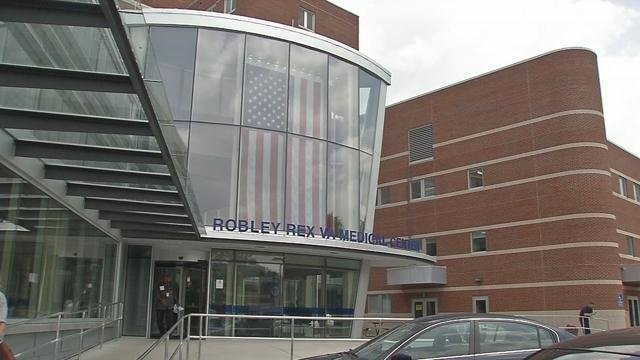 The current VA Hospital on Zorn Avenue