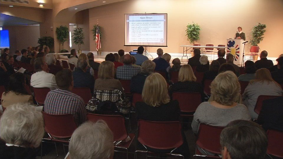 VA holds public hearing on environmental impact report