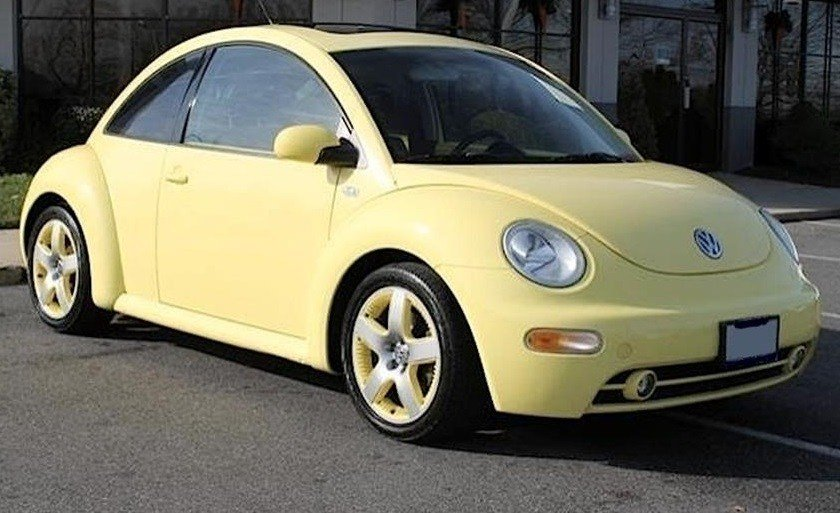 Police are looking for a Volkswagen Beetle similar to this model that is believed to have been involved in the incident at Taylor Boulevard and Bicknell Avenue.