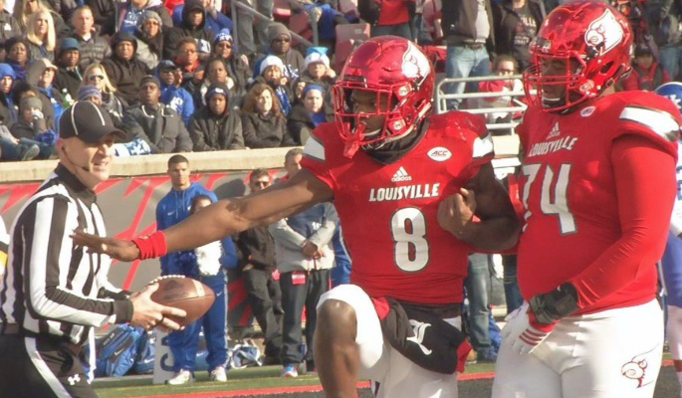 Did Lamar Jackson hurt his chances of winning the Heisman with four turnovers in a loss to Kentucky?