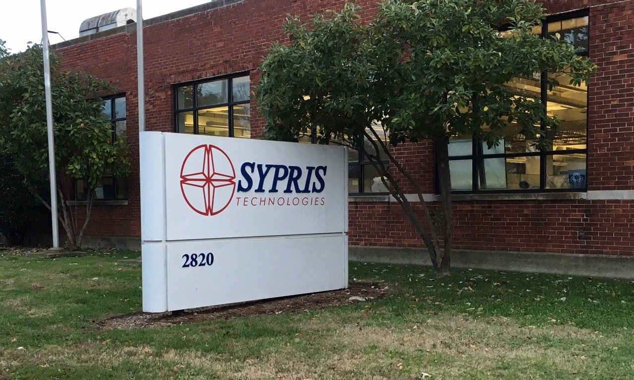 Sypris Solutions plans to sell or close its factory at 2820 W. Broadway.
