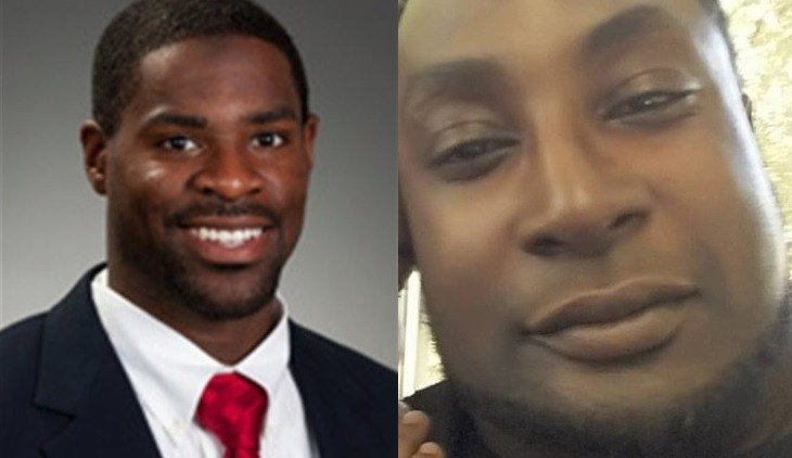Officer Brentley Vinson, right, Keith Lamont Scott, left (Images Courtesy: CNN)