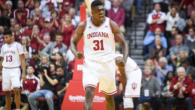 Thomas Bryant brought points and energy to IU's win.