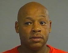 Keith Evans was charged with menacing.