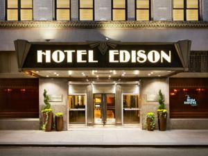 Hotel Edison.