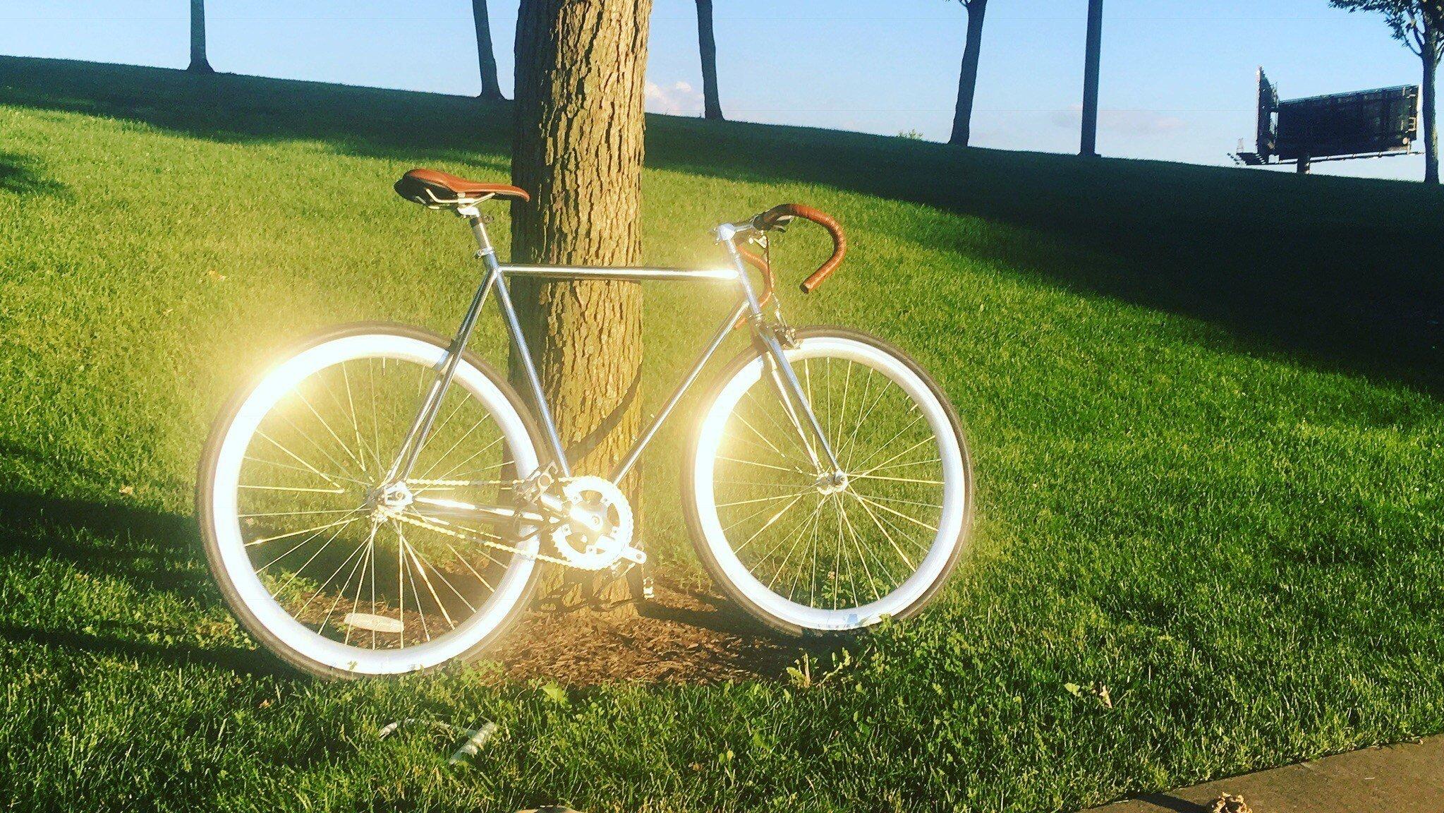Porter's bike that was stolen