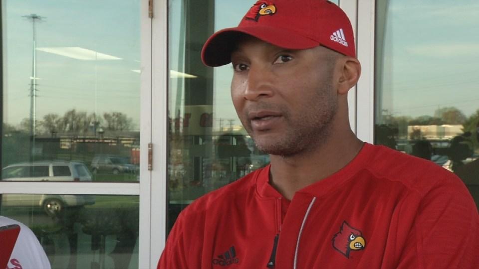 Louisville co-offensive coordinator Lonnie Galloway