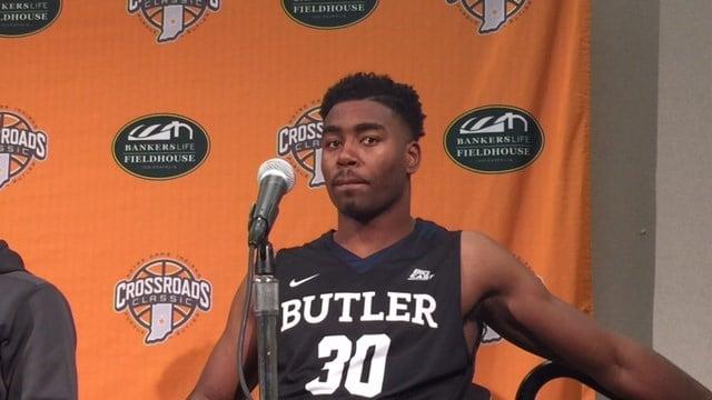 Former Ballard star Kelan Martin had 28 points as Butler beat Indiana Saturday.