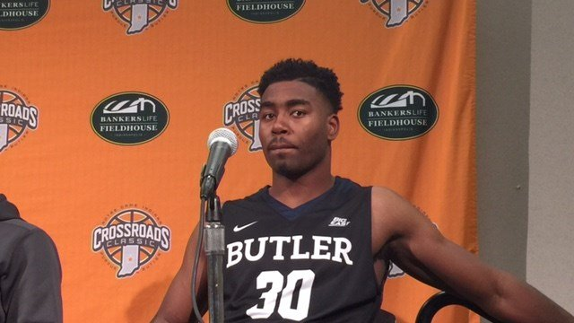 Former Ballard star Kelan Martin had 28 points as Butler beat Indiana Saturday.