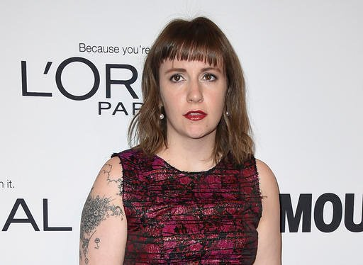 (Photo by Jordan Strauss/Invision/AP, File). FILE - In this Monday, Nov. 14, 2016, file photo, Lena Dunham arrives at the Glamour Women of the Year Awards at NeueHouse Hollywood in Los Angeles.