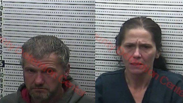 James Starrett and Melissa Starrett (Source: Harlan County Detention Center)