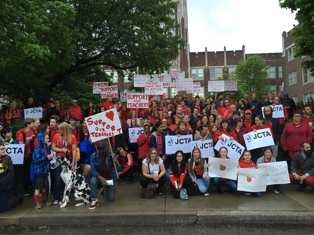 Walk-ins to support teachers were held at more than 100 JCPS schools in 2016,