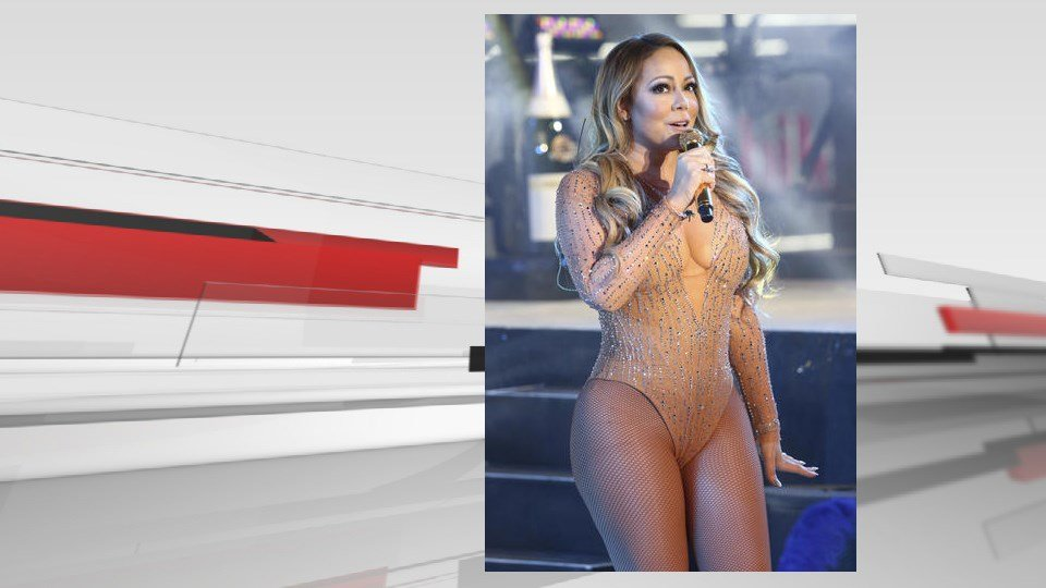 (Photo by Greg Allen/Invision/AP). Mariah Carey performs at the New Year's Eve celebration in Times Square on Saturday, Dec. 31, 2016.