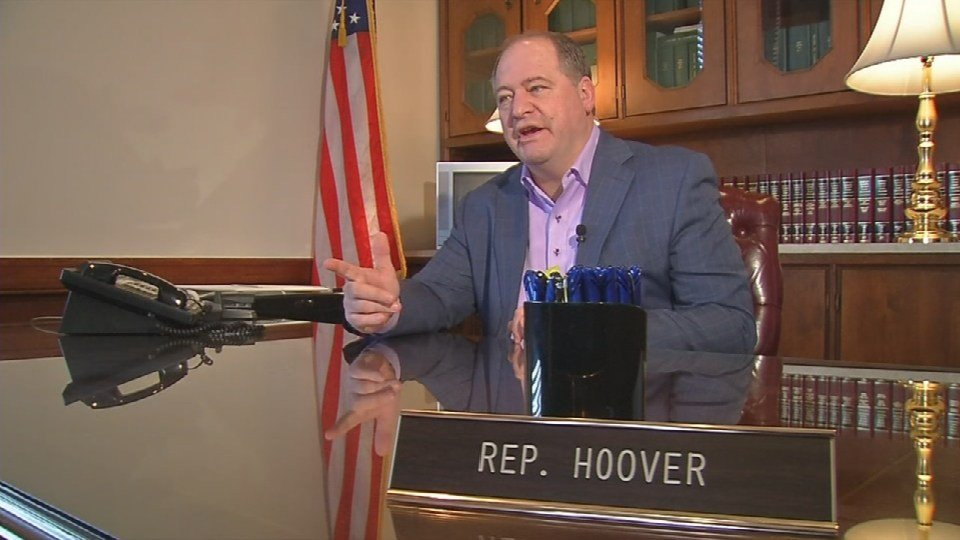 Rep. Jeff Hoover will officially be elected Speaker on Tuesday.