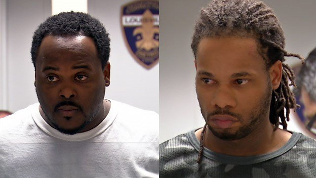 Antwyon Murrell and Marcus Whitehead (Source: Louisville Metro Corrections)