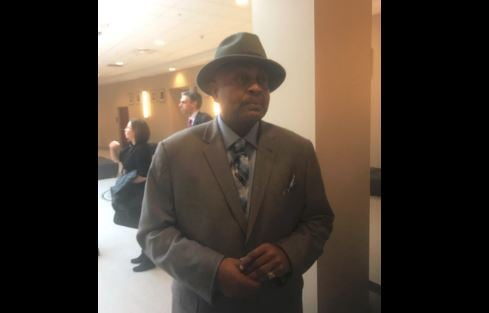 William Virgil arrives for court on Jan. 6, 2017 (Photo by Jason Riley, WDRB News)