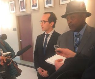 """""""He was framed,"""" attorney for William Virgil says. Prosecutor says she has found no wrongdoing. (Photo by Jason Riley, WDRB News)"""