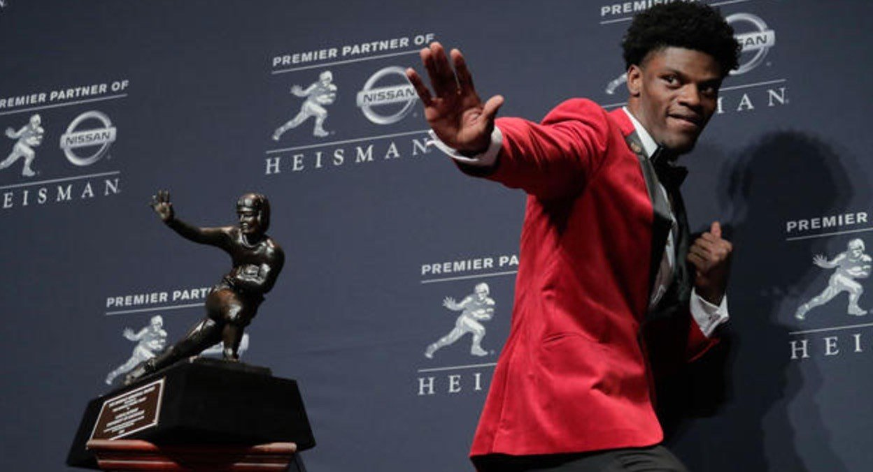 Discussion about Lamar Jackson's Heisman Trophy win percolated after Deshaun Watson led Clemson to the college football national title.