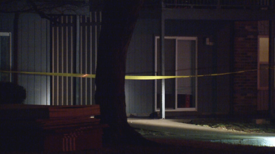 East Wheatmore Drive scene of a shooting