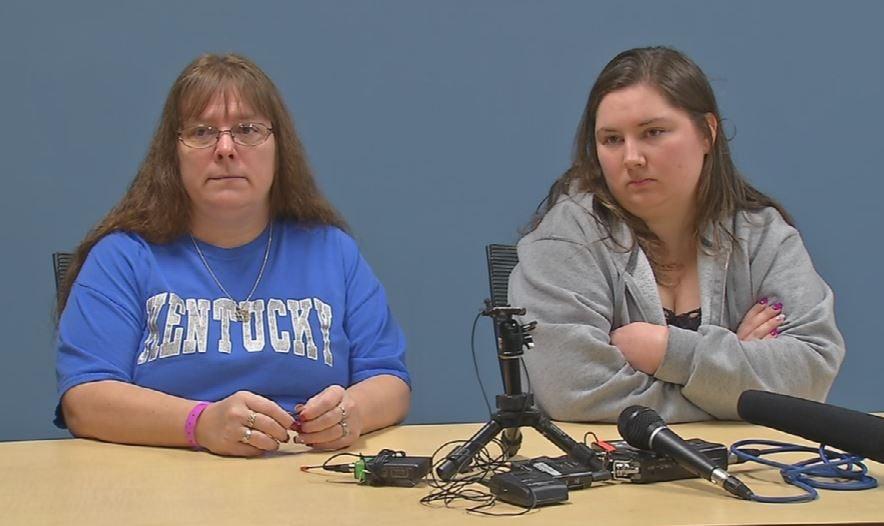Carolyn Willis and Amanda Vittitow (Photo by Toni Konz, WDRB News)