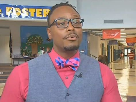 Foster Traditional Academy principal Robert Gunn was named the principal of Byck Elementary School on Tuesday (WDRB file photo)